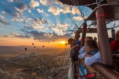 رزرو تور بالن سواری کاپادوکیه ترکیه | هزینه بالن سواری در کاپادوکیا
