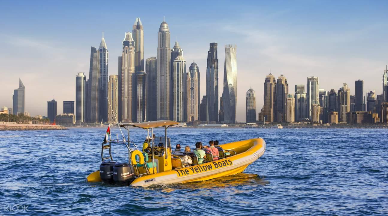قایق سواری دبی مارینا  گشت با قایق در دبی   رزرو آنلاین قایق سواری دبی مارینا