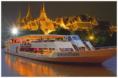 کشتی تفریحی بانکوک  رزرو آنلاین کشتی تفریحی بانکوک با قیمت استثنائی شام در کشتی بانکوک