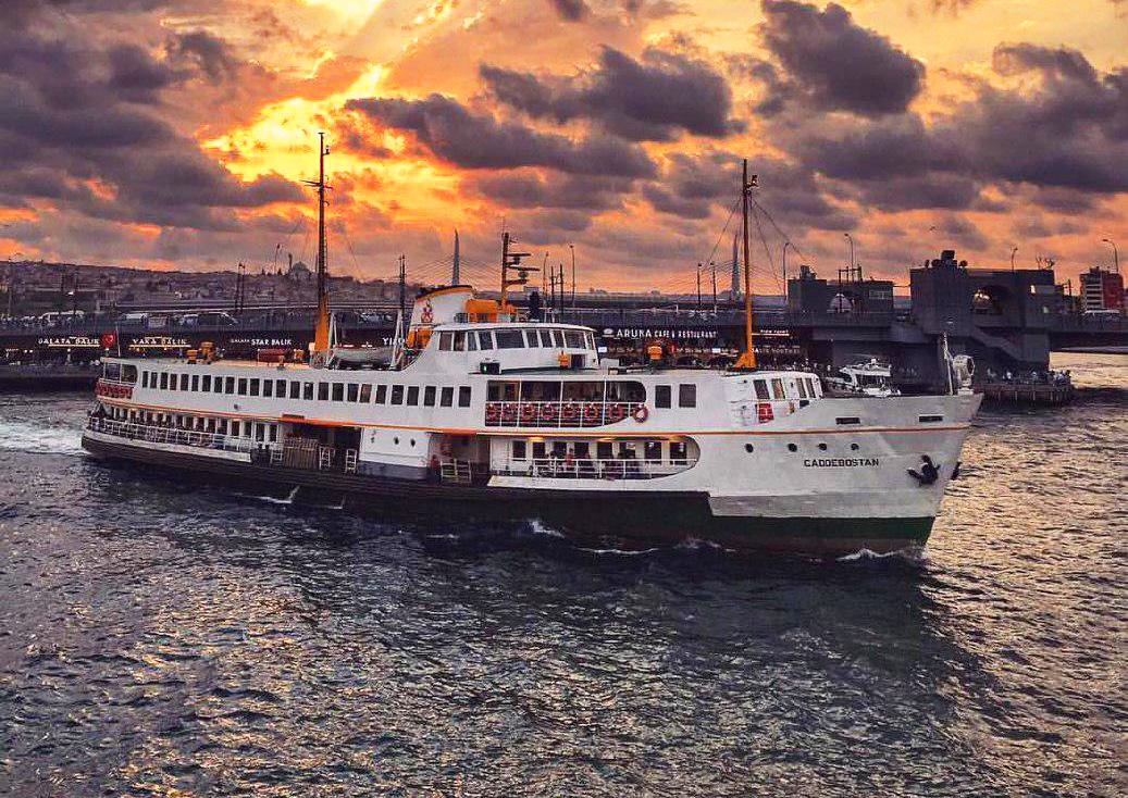 گشت کشتی استانبول